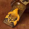 Чехол из натуральной кожи для iPhone 6 6S Plus Чехол для змеиной головки Задняя крышка Половинная упаковка для iPhone 7 8 Plus X Back Cover чехол накладка чехол накладка iphone 6 6s 4 7 lims sgp spigen стиль 1 580075