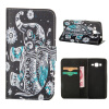 MOONCASE ЧЕХОЛ ДЛЯ Samsung Galaxy Grand Prime G530 Flip Leather Foldable Stand Feature [Pattern series] /a15 силиконовый чехол для samsung galaxy j2 prime grand prime 2016 df scase 34