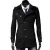КТ&ХФ модные мужские пальто Лацкане пиджака темперамент элегантный дизайн чистый Цвет пальто шерстяное пальто с длинными рукавами куртка пальто