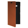 MOONCASE Slim Leather Side Flip Wallet Card Slot Pouch with Kickstand Shell Back чехол для Nokia Lumia 730 Brown mooncase slim leather side flip wallet card slot pouch with kickstand shell back чехол для nokia lumia 535 brown