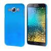 MOONCASE Жесткий Прорезиненные Резина Оболочка Вернуться Защитная крышка чехол для Samsung Galaxy E5 E500 лазурь