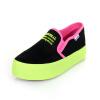 цена М. женские модные кроссовки мокасины Повседневная обувь 2015 конфеты Цвет канвы ходьба квартиры Chaussure Femme женские Sapatos Scarpe Донна онлайн в 2017 году