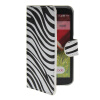 MOONCASE Zebra style Leather Side Flip Wallet Card Slot Stand Pouch чехол для LG G2 Mini rui long amd ryzen 7 1700x процессор 8 ядерный интерфейс am4 3 4 ггц в штучной упаковке