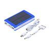 50000mAh Портативный Солнечное зарядное устройство Супер Dual USB Внешняя батарея банк силы Голубой зарядное устройство duracell cef14 аккумуляторы 2 х aa2500 mah 2 х aaa850 mah