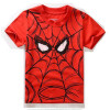 2018 Детская футболка Бэтмен хлопок с короткими рукавами футболки для мальчиков мультфильм печати мальчиков Тройная мода детская футболка детская футболка классическая унисекс