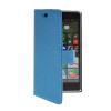 MOONCASE Slim Leather Side Flip Wallet Card Slot Pouch Stand Shell Back ЧЕХОЛДЛЯ Nokia Lumia 830 Blue nokia lumia 830 for nokia lumia 830