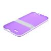 MOONCASE Huawei G7 Дело Желе Цвет силиконовый гель ТПУ Тонкий с подставкой обложка чехол для Huawei Ascend G7 фиолетовый