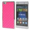 MOONCASE Футляр Роскошные Chrome горный хрусталь Bling Звезда задняя крышка чехол для Huawei Ascend P8 Lite розовый