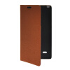 MOONCASE Slim Leather Side Flip Wallet Card Slot Pouch with Kickstand Shell Back чехол для LG G3 Stylus / D690 Red lg g3 stylus