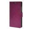 MOONCASE Smooth PU Leather Flip Wallet Card Slot Bracket Back чехол для Huawei Ascend P8 Purple mooncase чехол для huawei ascend p8 wallet card slot with kickstand flip leather back white