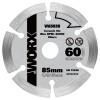 Кеши (WORX) WA5038 85мм пильный диск алмазный пильный диск worx wg118e