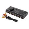 4 в 1 AV аудио-видео сигнала Switcher Splitter Переключатель 4 Способ выбора видеорегистратор artway av 711 av 711