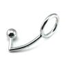 Мужская экстремальные удовольствия секс игрушки анальные шарики позолоченный штекер с кольцом для члена-470042 анальные игрушки для двоих close2you