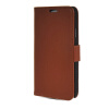 MOONCASE High quality Leather Side Flip Card Slot Pouch Stand Shell Back ЧЕХОЛ ДЛЯ Samsung Galaxy Note 3 Neo N7505 Brown mooncase soft silicone gel side flip pouch hard shell back чехол для samsung galaxy s6 black