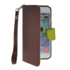 MOONCASE Litch Skin Leather Side Flip Wallet Card Slot Pouch Stand Shell Back ЧЕХОЛ ДЛЯ Apple iPhone 6 ( 4.7 inch ) Brown unlim пульт управления