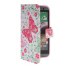 MOONCASE Pattern Style Leather Side Flip Wallet Card Slot Pouch Stand Shell Back ЧЕХОЛДЛЯ HTC One 2 (M8) mooncase classic cross pattern leather side flip wallet card slot pouch stand shell back чехолдля htc desire 816 hot pink