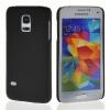 MOONCASE Hard Rubberized Rubber Coating Devise Back чехол для Samsung Galaxy S5 Mini Black hama для galaxy s4 mini rubber белый 00124609