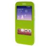 MOONCASE Side Flip Hard board Slim Leather Bracket Window чехол для Cover Huawei Ascend Y625 зеленый