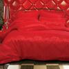 (Dohia) Комплект постельных принадлежностей Свадебные жаккардовые двуспальные кровати 4 шт - Qinxin Flower 1,8 м Bed