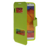 MOONCASE View Window Leather Side Flip Pouch Stand Shell Back ЧЕХОЛ ДЛЯ Samsung Galaxy Note 3 N9000 Green mooncase soft silicone gel side flip pouch hard shell back чехол для samsung galaxy s6 grey