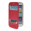MOONCASE View Window Leather Side Flip Pouch Stand Shell Back ЧЕХОЛДЛЯ Samsung Galaxy Grand Duos i9080 i9082 Hot pink mooncase view window leather side flip pouch stand shell back чехолдля samsung galaxy grand prime g5306w white