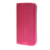 MOONCASE Slim Surface holes Leather Side Flip Pouch Shell Back ЧЕХОЛ ДЛЯ Samsung Galaxy S6 Edge Hot pink keymao luxury flip leather case for samsung galaxy s7 edge