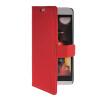 MOONCASE Slim Leather Side Flip Wallet Card Slot Pouch with Kickstand Shell Back чехол для HTC Desire Eye Red синий slim robot armor kickstand ударопрочный жесткий корпус из прочной резины для vivo x9plus