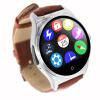 Круговая сенсорный экран Смарт Часы Фитнес Спорт Смарт часы с Heart Rate Monitor Music