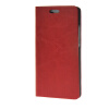 MOONCASE Leather Side Flip Wallet Card Holder Stand Shell Pouch ЧЕХОЛ ДЛЯ Huawei Ascend P8 Lite Red ecostyle shell чехол флип для huawei ascend d2 black