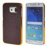 MOONCASE Золото Chrome Шкала фильмы стиль Твердый переплет чехол для Samsung Galsxy S6 Edge фиолетовый