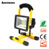 24 LED Flood Lights Portable Tool Work Light Rechargeable Floodlight Handle Emergency Spotlight Color Change 10W Garden Ground Lig