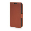 MOONCASE High quality Leather Wallet Flip Card Slot Pouch Stand Shell Back ЧЕХОЛДЛЯ LG G2 Mini Brown mooncase high quality leather wallet flip card slot pouch stand shell back чехолдля lg l80 brown