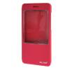 MOONCASE ЧЕХОЛ ДЛЯ Huawei Honor 4X Slim View Window Leather Flip Bracket Back Cover Hot pink чехол для сотового телефона honor 5x smart cover grey