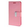 MOONCASE чехол для Samsung Galaxy Core 2 II Duos G355H Flip Leather Wallet Card Slot Bracket Back Cover Pink защитная плёнка для samsung g355h galaxy core 2 duos суперпрозрачная luxcase
