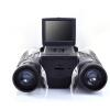 Черный HD 12x32 бинокль телескоп складывая с встроенный цифровой камеры новые hd 20x50 бинокль телескоп увеличение восхождение смотря просветленная оптика