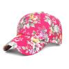 Guttavalli Vintage Rose Flowres Хлопок Бейсбольные шапки Женщины Sunhats Мягкое очарование Популярные солнцезащитные очки Мужчины на открытом воздухе Регулируемые мягкие шляпы