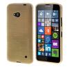 MOONCASE длительного цвета Мягкая силиконовая гель ТПУ гибкой оболочки Защитный чехол для Microsoft Lumia 640 желтый чехол для microsoft lumia 640 lte dual lumia 640 dual gecko силиконовая накладка прозрачно глянцевая красная