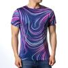 Мода Мужские O-образным вырезом Геометрические шаблон печати Пуловер футболки