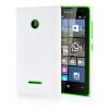 MOONCASE Hard Rubberized Rubber Coating Devise Back ЧЕХОЛДЛЯ Nokia Lumia 532 White чехол для nokia lumia 435 lumia 532 nokia cc 3096 зеленый