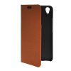 MOONCASE Slim Leather Side Flip Wallet Card Slot Pouch with Kickstand Shell Back чехол для Huawei Honor 4 Play Brown mooncase чехол для huawei ascend p8 wallet card slot with kickstand flip leather back white