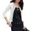 CT&HF Женщины Мода Досуг пальто Корея Сельма Сладкий Сокращенное пальто Горячий продавая строчка хлопка с длинным рукавом пальто пальто