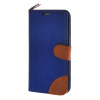 MOONCASE Galaxy S6 Edge , Leather Wallet Flip Card Holder Pouch Stand Back ЧЕХОЛ ДЛЯ Samsung Galaxy S6 Edge Dark blue mooncase galaxy s5 leather wallet flip card holder pouch stand back чехол для samsung galaxy s5 dark blue