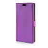 MOONCASE Litch Skin Leather Side Flip Wallet Card Slot Pouch Stand Shell Back ЧЕХОЛДЛЯ LG G3 Stylus D690 Purple mooncase litch skin leather side flip wallet card slot pouch stand shell back чехолдля lg g3 stylus d690 white
