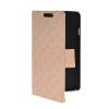 MOONCASE Slim Leather Side Flip Wallet Card Slot Pouch Stand Shell Back ЧЕХОЛДЛЯ LG F70 Beige