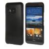 MOONCASE Мода Матовый алюминий Металл Твердая обложка чехол для HTC One M9 Черный