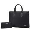 Пугало MEXICAN сечение первый слой кожи мужской бизнес случайный портфель универсальный и практичный ноутбук сумка 50269 черный