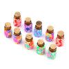 10 шт Мини Стекло Полимерная глина Бутылки Контейнеры Флаконы с Пробки самозастывающая полимерная глина минск