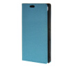 MOONCASE Защита кожаный бумажник Слот карты флип чехол Чехол Подставка чехол для Sony Xperia M4 Аква Синий чехол вертикальный откидной для sony xperia t3 синий armorjacket