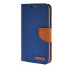 MOONCASE Galaxy S5 , Leather Flip Wallet Card Holder Pouch Stand Back ЧЕХОЛ ДЛЯ Samsung Galaxy S5 Dark blue чехол для samsung galaxy s5 printio москва