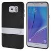 MOONCASE Samsung Galaxy Note 5 ЧЕХОЛДЛЯ Soft Silicone Gel TPU Skin With Bracket Protective Black 01 чехол для samsung galaxy note 5 n920 samsung glossycover золотистый